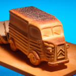 Model Bread Van