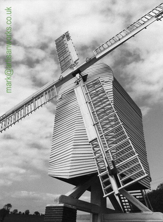Chillenden Post Mill Model
