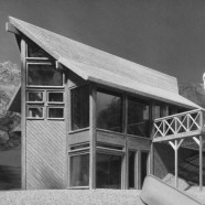 Natural Wood Architectural Planning Model