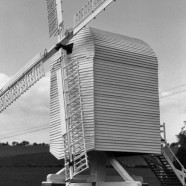 Model Post Mill - Chillenden Kent