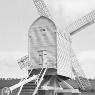 Post Mill Model Steps - Chillenden Kent