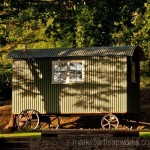 Shepherds Hut in the Early Morning Sun