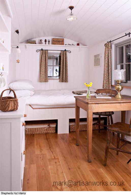 shepherds hut artisan works. Black Bedroom Furniture Sets. Home Design Ideas